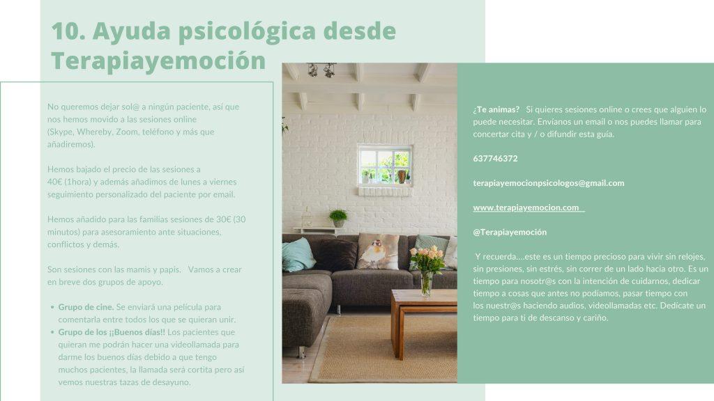 Ayuda psicológica online. Terapia online. Psicólogos online. Terapiayemoción