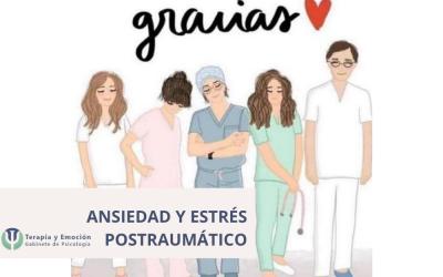 Ansiedad y estrés postraumático en el personal sanitario