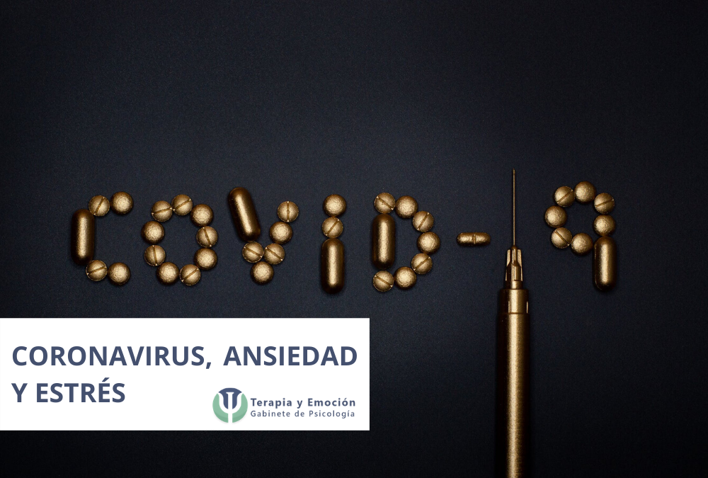 ¿Ansiedad y estrés por el Coronavirus?